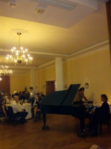 pianist evenement, pianist diner