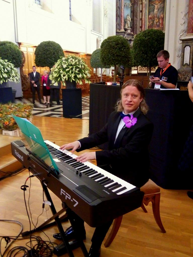 Piano entertainment Europees kampioenschap Eurofleurs-Sint Truiden,BE