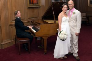 Pianist bruiloft