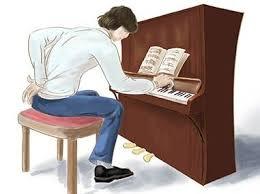 piano leren spelen - de top 5 fouten, slechte houding