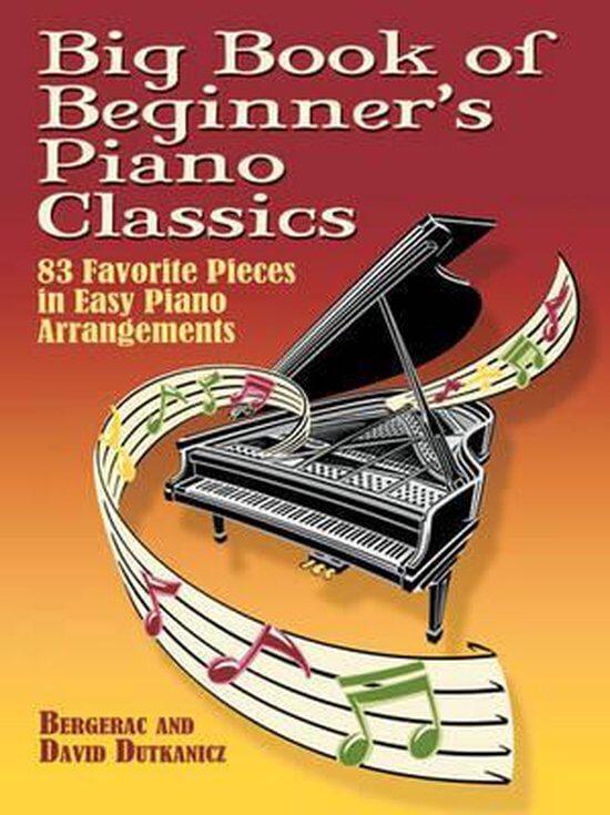 Bladmuziek piano klassiek, Big book of beginners