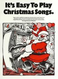 Kerstliedjes piano, bladmuziek, beginner
