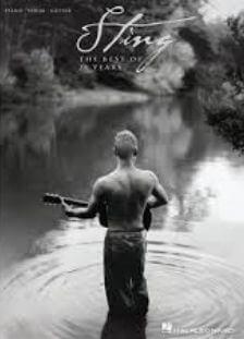 bladmuziek piano pop- Sting