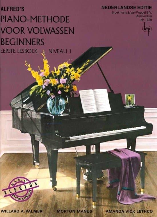 Bladmuziek piano beginners alfred piano methode