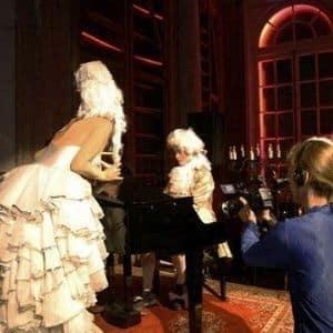 Pianist thema feest Thomas alexander als Mozart