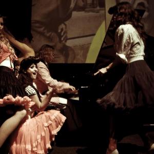 Pianist feest Thomas Alexander als Jerry Lee Lewis